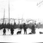 First Nations at McLeod Lake, winter 1925. Photo (C) The Exploration Place.